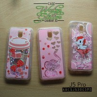 Case Water Glitter Gambar Samsung J5 Pro - ABCSJ530G3MS