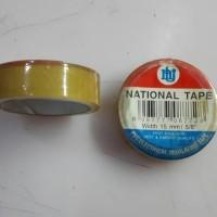 (Diskon) lakban solasiban tape bening kecil