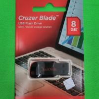 USB Flash Drive / memory 8GB, USB 2.0 SANDISK Cruzer Blade CZ50