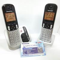 Telepon Wireless Panasonic KX-TGC212 Wireless Phone TGC212 (2 Handset)