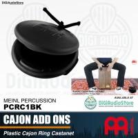 Meinl PCRC1BK Plastic Cajon Ring Castanet - Kahon Perkusi Aksesoris