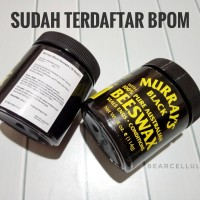 POMADE MURRAY'S BLACK BEESWAX 4OZ FREE SISIR