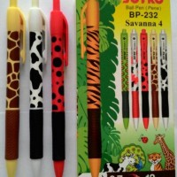 Pulpen Joyko savanna 4 BP-232 HITAM ( Per lusin )
