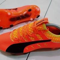 Sepatu Bola Puma Original Terbaru EvoPOWER Vigor 1 FG - Ultra Yellow