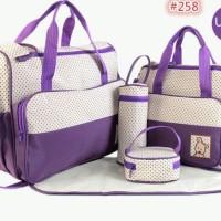 Diskon Akhir Tahun 258 Diaper Bag Tas Perlengkapan Bayi Travelling Bag