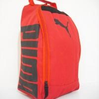 Tas Sepatu Futsal Puma Red Black D300