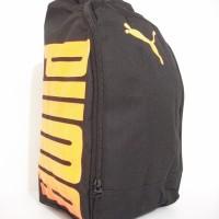Tas Sepatu Futsal Puma Black Orange D300