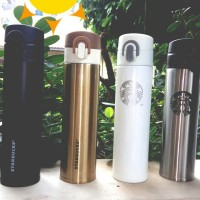Termos/thermos/tumbler stainless Starbucks / kopi / teh hot/cold