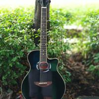gitar akustik apx500ii hitam free tas yamaha