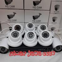 PAKET CCTV FULL HD 8CHANEL (3MEGA PIXEL)Komplit tggl psang aja
