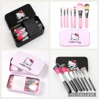 Kitty Brush Set 7 in 1 / Brush Hello Kitty Murah Lucu
