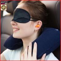 bantal portable bantal leher - bantal angin tiup - travel pillow
