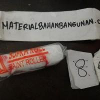 (Diskon) bulu roll kapas bulu cat roll bulu roll kuas cat roll 10 cm