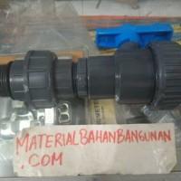 union socket 1 inch watermur 1 inch satu paket sambungan tangki air
