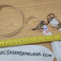(Dijamin) klem kawat selang klem ring 3/4 inch pengikat selang