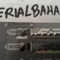 (Sale) mata jigsaw bosch t 301 cd  panjang 117 mm jarang gigi 3 mm