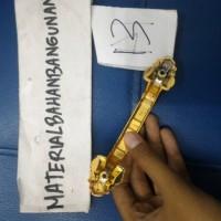 tarikan lemari handle pintu tarikan laci handle laci kuning besi 087