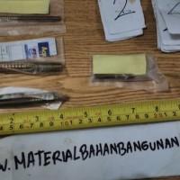 hanger bolt skrup berbadan baut M 8 panjang 90 mm baut gantung