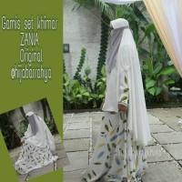 Gamis set khimar Zaina original by hijabarrahya