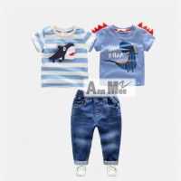 Ann Mee2 117 D Teen - 3 in 1 Jeans Sets  - Setelan Anak Import