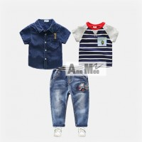 Ann Mee2 117 E Teen - 3 in 1 Jeans Sets  - Setelan Anak Import