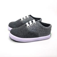 Sepatu Anak Laki-Laki Murah Trendy Casual Stylist Abu Hitam by SHUKU