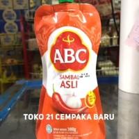 ABC Sambal Asli Pouch 380 gr | Saus Saos Sambel Bawang Murah Promo