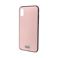 ibacks Stellar (Carbon) case for iPhone X - Rose Gold