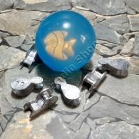 (Sale) Set bola bekel dan 6 pit / biji timah mainan jadul 90an