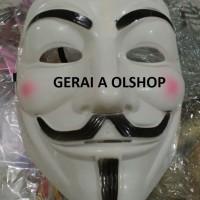Termurah Grosir Topeng V for Vendetta / Anonymous / Guy Fawkes