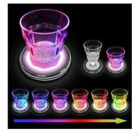 Gelas Minum Sensor Air LED Berubah 7 Warna Glass Switch Rainbow Lamp