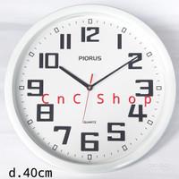 Jam Dinding Besar Minimalis Murah 40cm Piorus