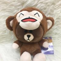 boneka brown boneka line boneka gede kado unik kado spesial natal gift