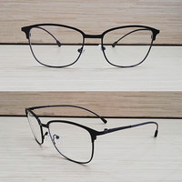 frame kacamata full besi super ringan