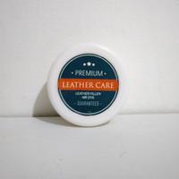 Dempul bahan kulit Premium ntuk sofa,tas,sepatu, jok (leather filler)