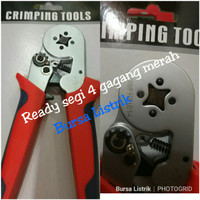 Tang Press LXC8 6-4 / Crimping tools for skun Ferrules 0,25-6 mm