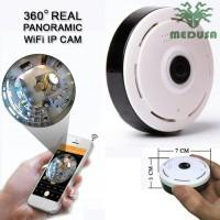Mini WiFi Camera Fisheye Panoramic - 360 derajad