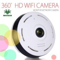 CCTV Mini WiFi IP Camera Fisheye Panoramic - 360 derajad