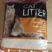 Premium Cat Litter - Pasir Kucing Gumpal Wangi - 5,5 Liter Bagikan