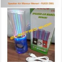 (Murah) Speaker Air Mancur USB/SD Card + FM Radio - FLECO Z301