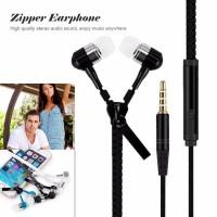 New 3.5mm Jack Zipper headphone Microphone stereo