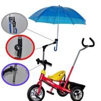Folded Stand Payung Multi Fungsi Sepeda Stroller Kereta Bayi