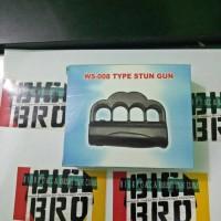 (Sale) Stun Gun Knuckle / Alat Setrum Kejut Model Knuckle + Senter