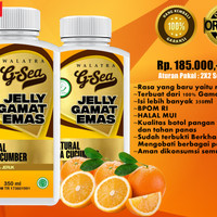 Walatra G-Sea Jelly Gamat Original 100% ALAMI