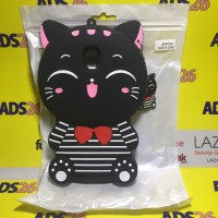 Case 4D Cat Smile Samsung Galaxy J3 Pro 2017/Silikon/Softcase