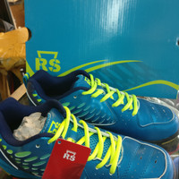 Sepatu Badminton RS Rainforce Speed Superliga 802 Biru Lemon Original