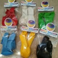 Balon latex kecil 5 inch/balon mini/balon isian balon transparan