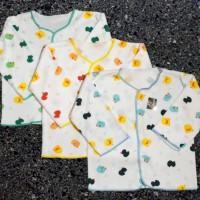 3 Pcs Baju Lengan Panjang Bayi Baru Lahir Newborn Shankusen