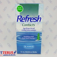 Tetes Mata Allergan Refresh Contacts 15ml