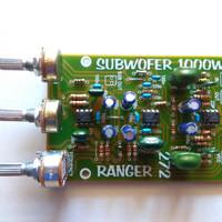 Kit Aktif Filter Subwoofer Ranger  272